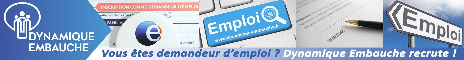 Vous êtes demandeur d'emploi en Essonne ? Dynamique Embauche recrute ! Cliquez ici pour plus d'informations.