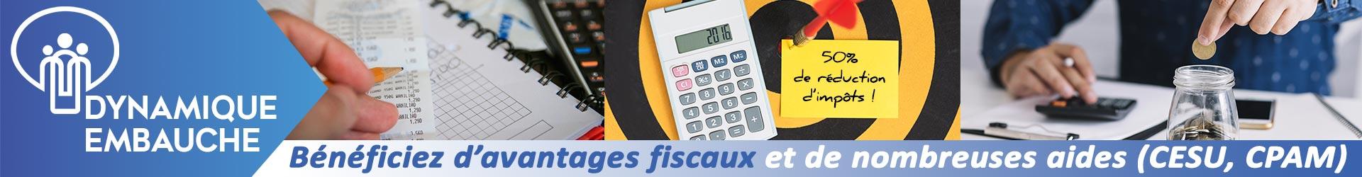Bénéficiez d'avantages fiscaux et de nombreuses aides financières (CESU, CPAM, etc.)